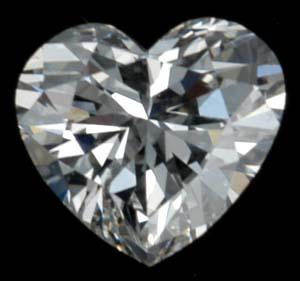 Огранка бриллианта в виде сердца станет лучшим доказательством любви в отношениях семейной или только
